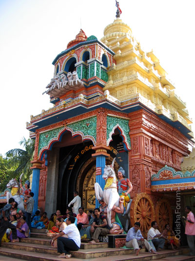 Maa Tarini Temple, Ghatgaon